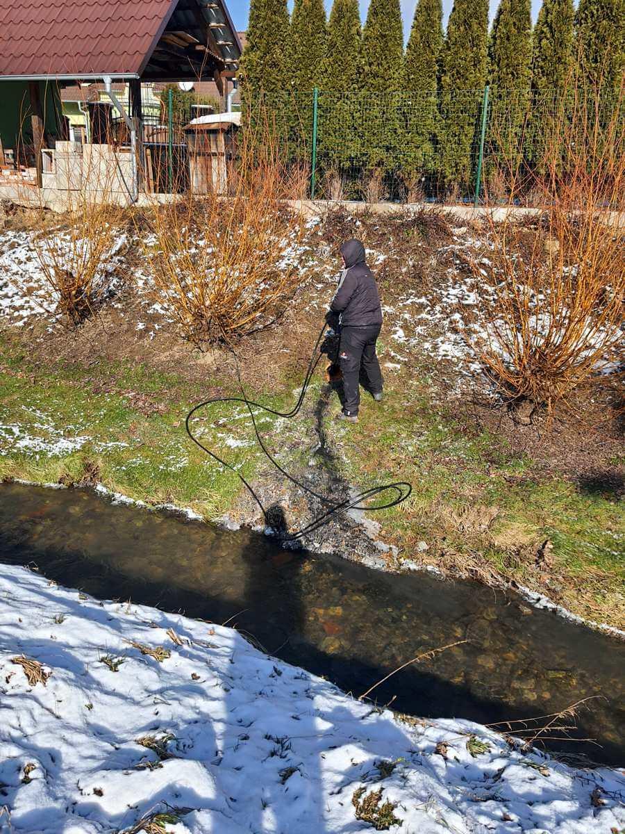 Krtkovanie Bytča - hydročistenie