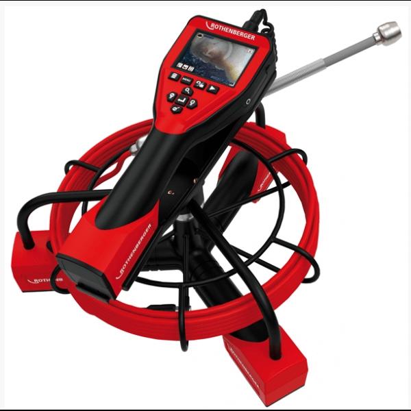 Monitoring potrubia - inšpekčná kamera Rescophe i2000 Rothenberger